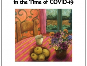 Gratitude in the time of covid-19 cover concept